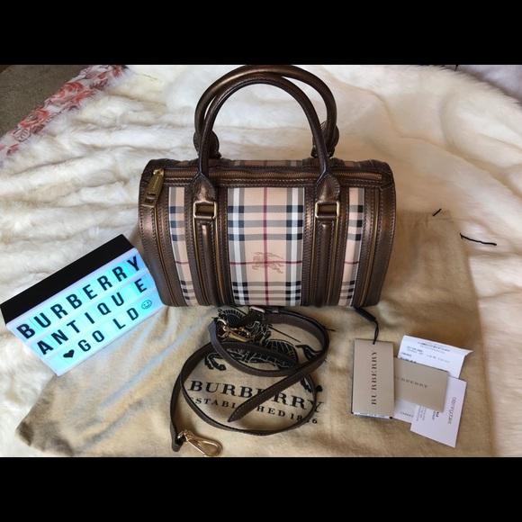 Burberry Handbags - ♥️Burberry Haymarket  Alchester Bowling Bah